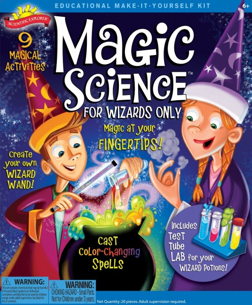 magic science kit for kids