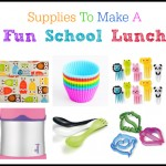 supplies needed to make a fun school lunch