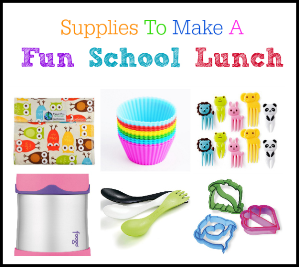 Make school lunch fun with these fun supplies.  They will turn the blah lunches into fun lunches!