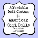 affordable doll clothes