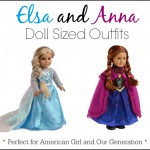 anna elsa american girl outfits