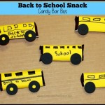 back to school snack candy bar bus