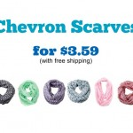chevron scarves