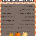 Fall Bucket List: What We Hope to Accomplish This Season