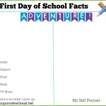 first day of school facts time capsule self portrait 600