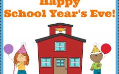happy school years eve