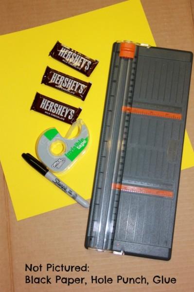 school bus snack materials