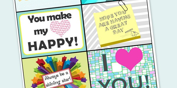 Every Day Lunch Box Notes – Perfect for Every Single Day of the (School) Year