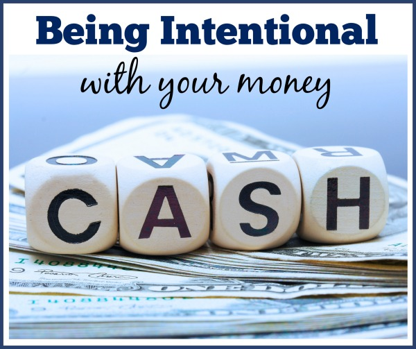 being intentional with your money