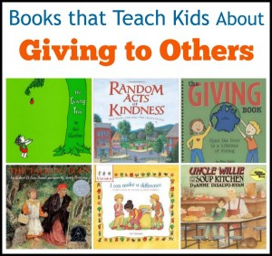 These books have the theme of teaching kids to give and be generous