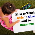 How to Teach Kids to Give