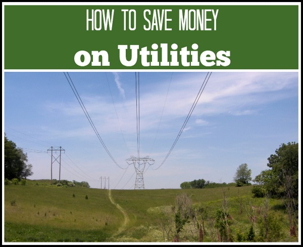 save money on utilities