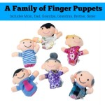 a family of finger puppets