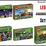 Brand New 2014 LEGO Minecraft Sets Released