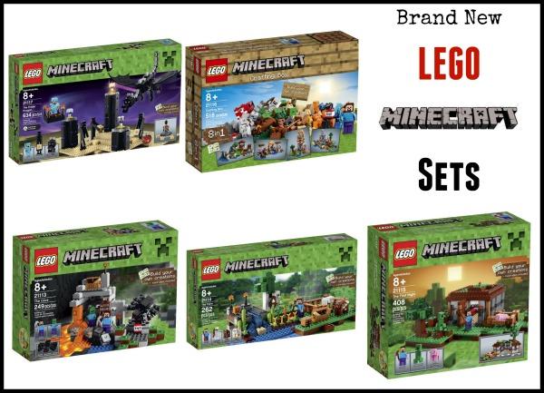 2014 lego minecraft sets