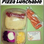Frugal Lunch Idea: Homemade Pizza Lunchable