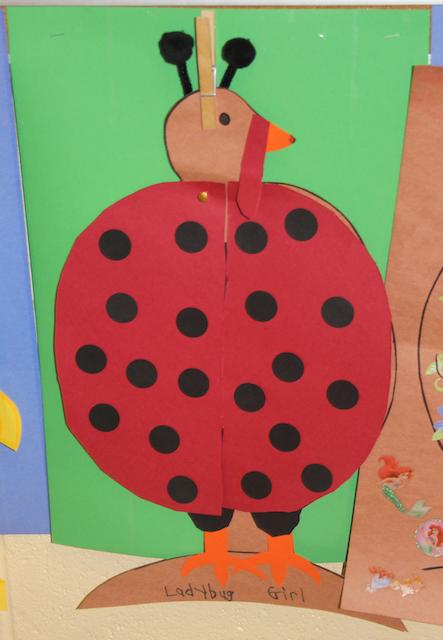 disguise turkey ladybug costume