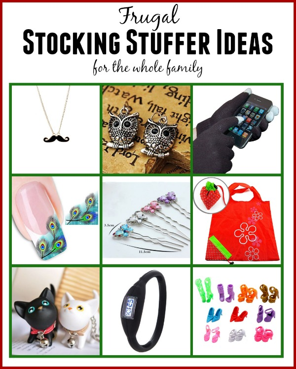Frugal Stocking Stuffer Ideas For The Whole Family