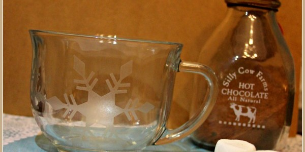 glass etched hot cocoa mugs