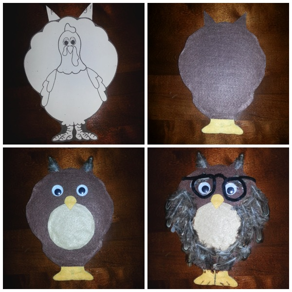 owl turkey disguise