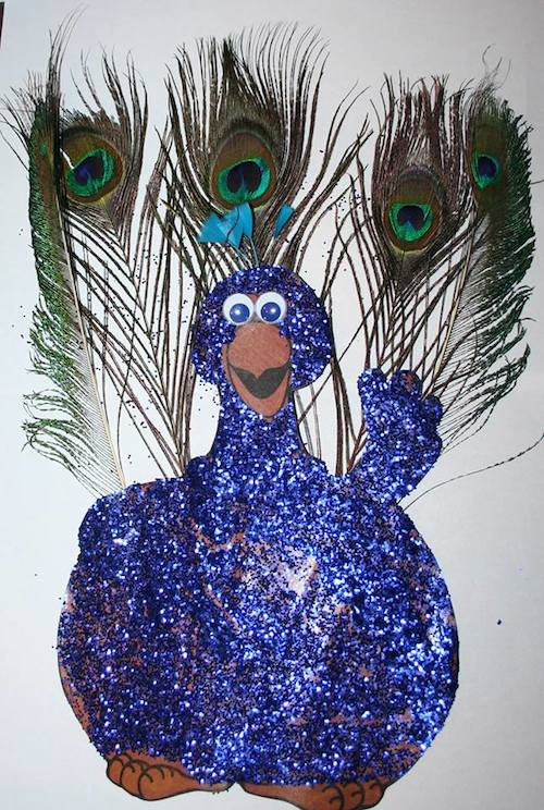 peacock turkey disguise