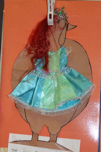 princess arial turkey disguise