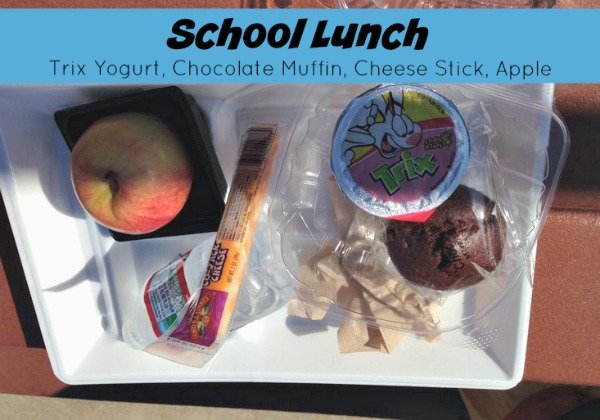 school lunch where are the veggies