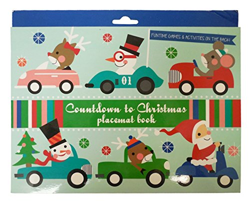counting to christmas placemat book