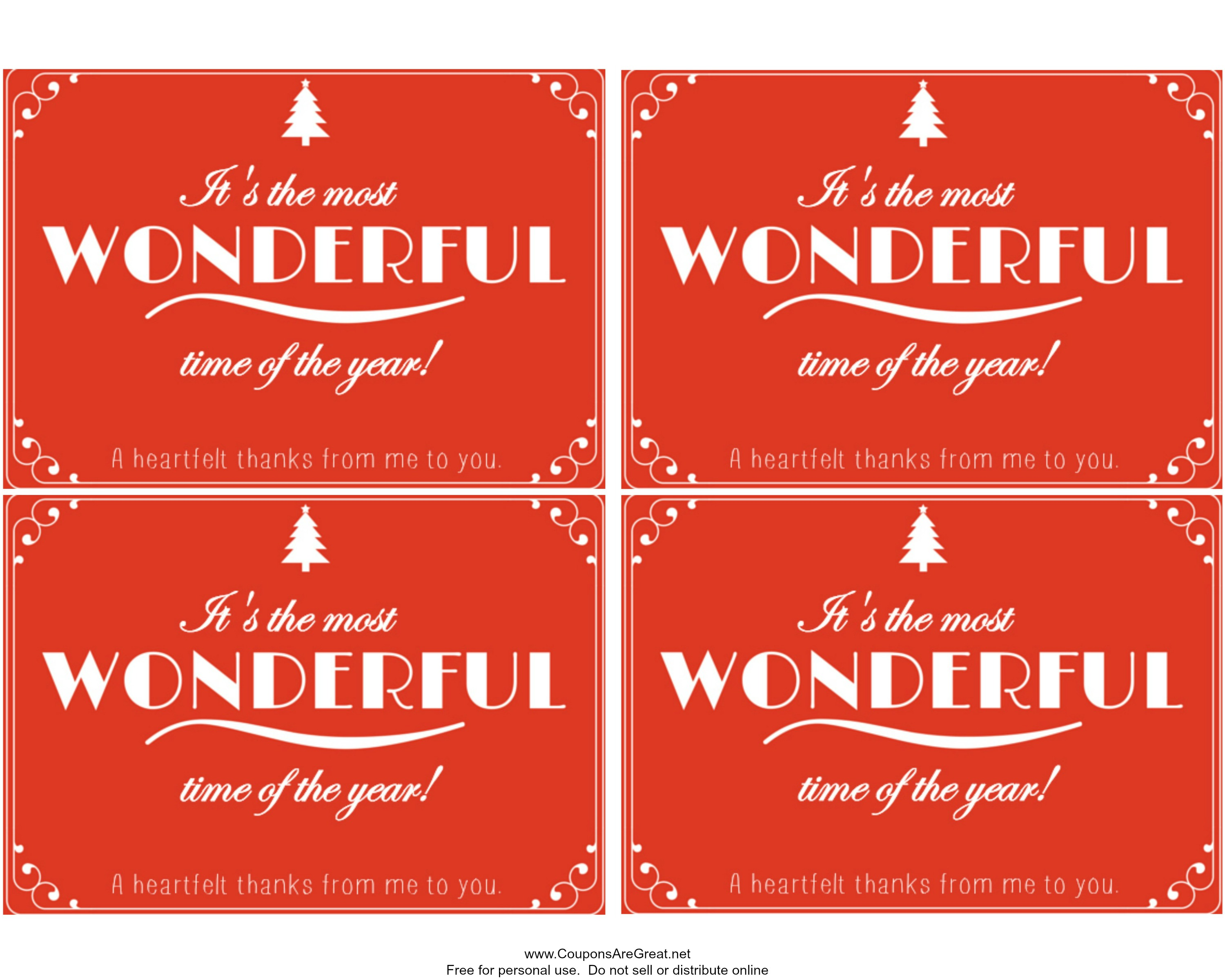 Easy Gift Idea Lottery Ticket Printable for December