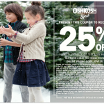 Use this OshKosh B'Gosh Printable Coupon to Save #givehappy