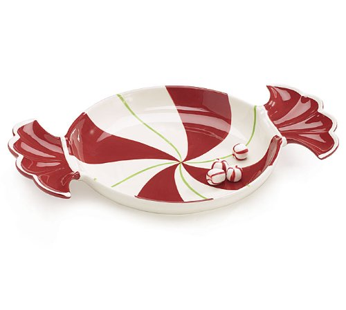 peppermint shaped plate
