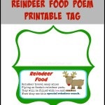 Reindeer Food Poem Printable – Use On Your Own Reindeer Food