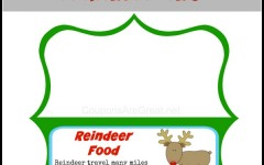 reindeer food poem printable tag