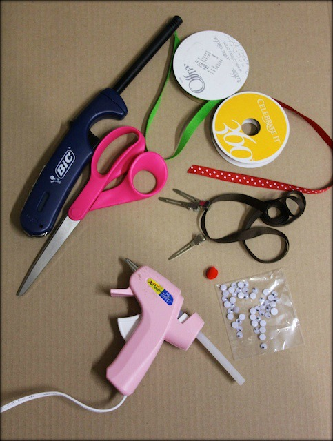 reindeer hair bow supplies