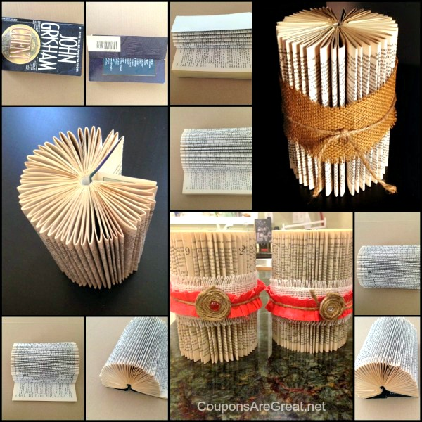 Decorating Your Home With Books 20 Ideas: Book Craft: Folding Books For Decoration