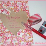 hallmark card washi tape put your heart to paper