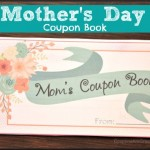 mothers day coupon book gift for mom