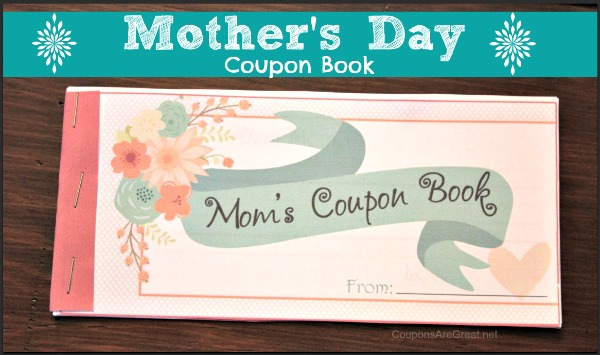this mothers day coupon book is the perfect gift for mom whether it be for