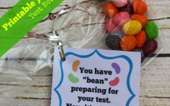 printable jelly bean test note
