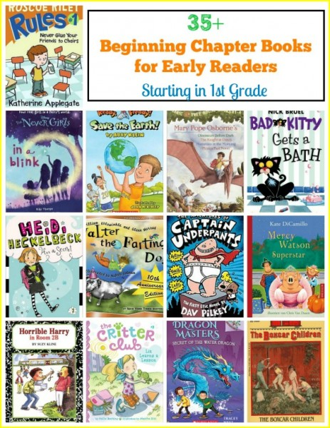 beginning chapter books early readers