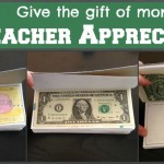 Teacher Appreciation/End of the Year Teacher Idea: A Book of Money