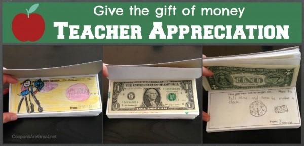 gift money teacher appreciation