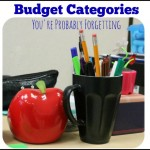 Budget Categories You are Probably Forgetting