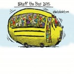 Helping our Community: Atlanta Stuff the Bus Event Collects School Supplies