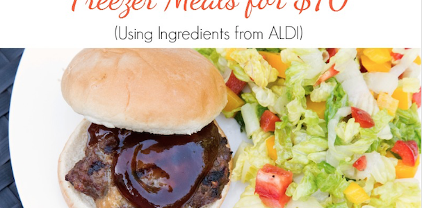 aldi summer friendly freezer meals