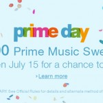 amazon prime day music sweeps