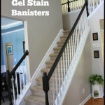 Frugal Home Improvement Idea: Using Gel Stain on Banisters