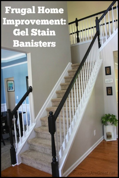 Restaining Stair Treads