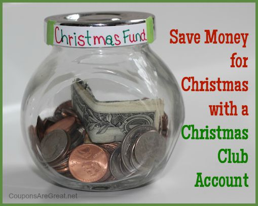 Save money for Christmas with a Christmas Club Account