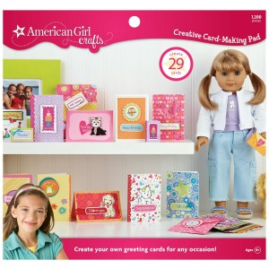 american girl card making